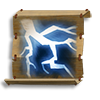 Poe2 scroll of chain lightning icon.png