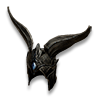 Poe2 helm thaos headdress icon.png