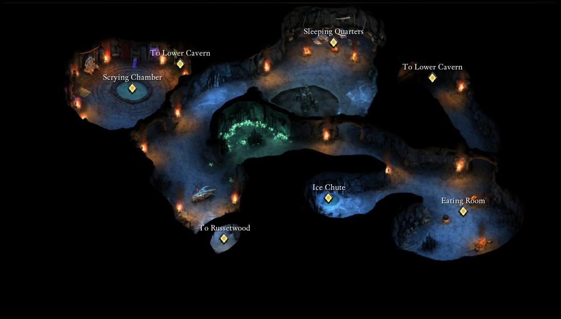 Flames That Whisper Caverns Official Pillars Of Eternity