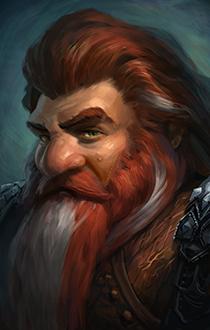 dwarf, male 05_portrait | Fantasy Art and Portraits ... |Dwarf Male Portrait