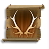Poe2 scroll of stags horn icon.png