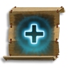 Poe2 scroll of minor healing icon.png