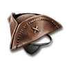 Poe2 hat tricorn with eyepatch icon.png