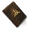 Laxi burned book of law icon.png
