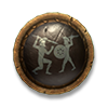 Poe2 shield large bronlars phalanx icon.png