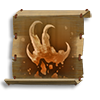 Poe2 scroll of embrace the earth talon icon.png