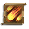 Poe2 scroll of meteor shower icon.png