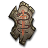 Poe2 medium shield magrans blessing icon.png
