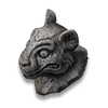 LAX01 artifact lion head statue icon.png