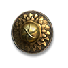 Poe2 small shield shimmer scale icon.png