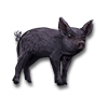 Poe2 pet backer pig Onyx icon.png