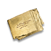 Poe2 note folded icon.png