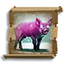 Poe2 scroll of form of the helpless beast icon.png