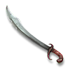 Poe2 sabre sashas-singing-scimitar icon.png