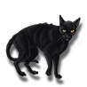 Pet black cat icon.png