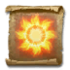 Scroll of Burst of Summer Flame