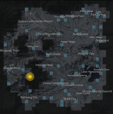 Map of Ring of Elysium