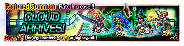 Featured Summon for Final Fantasy VII