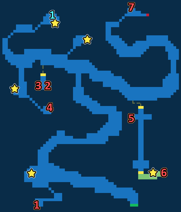 Treasure Map of Windy Heights West