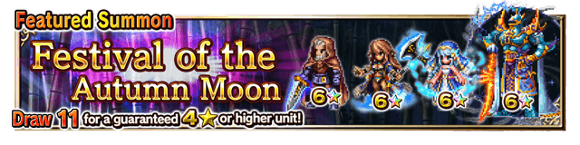 Featured Summon for Festival of the Autumn Moon