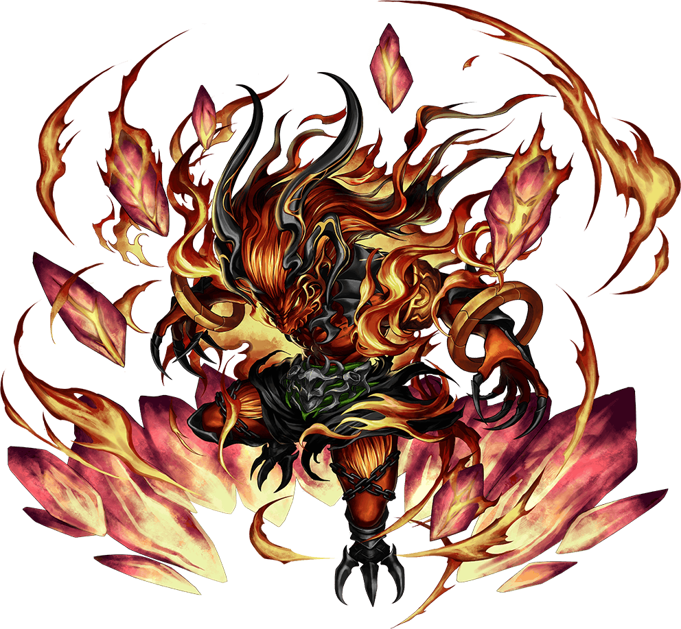 Artwork of Ifrit