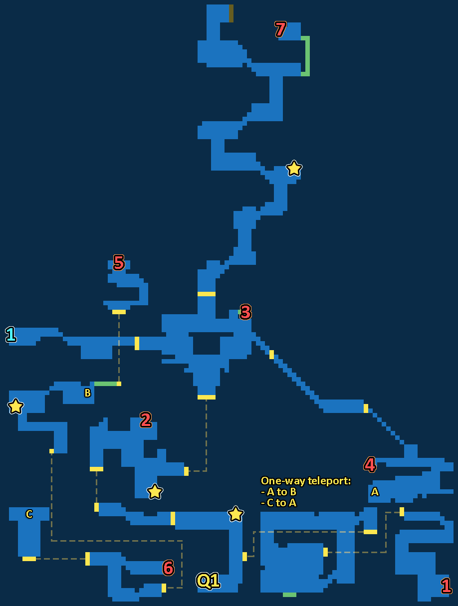 Treasure Map of Mysidia Tower
