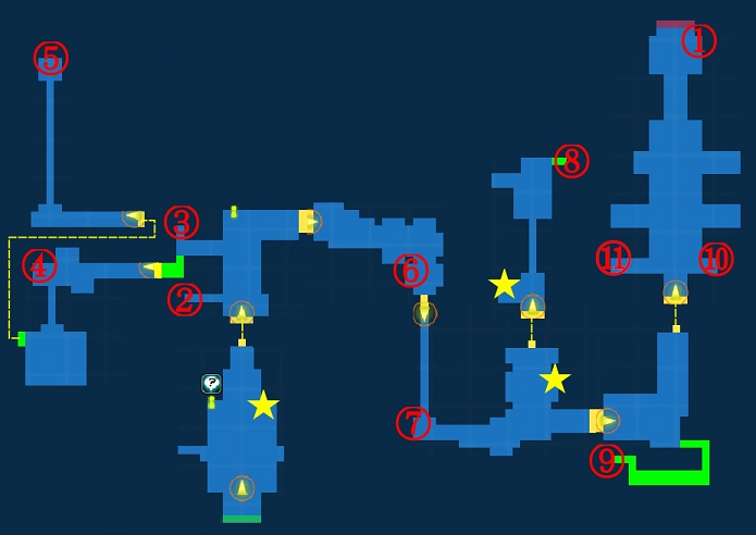 Map of Sandstorm Maze
