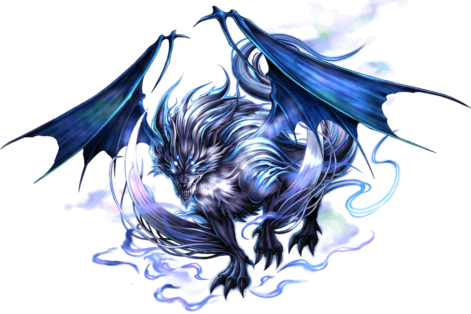 Artwork of Fenrir