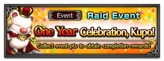 One Year Celebration, Kupo!