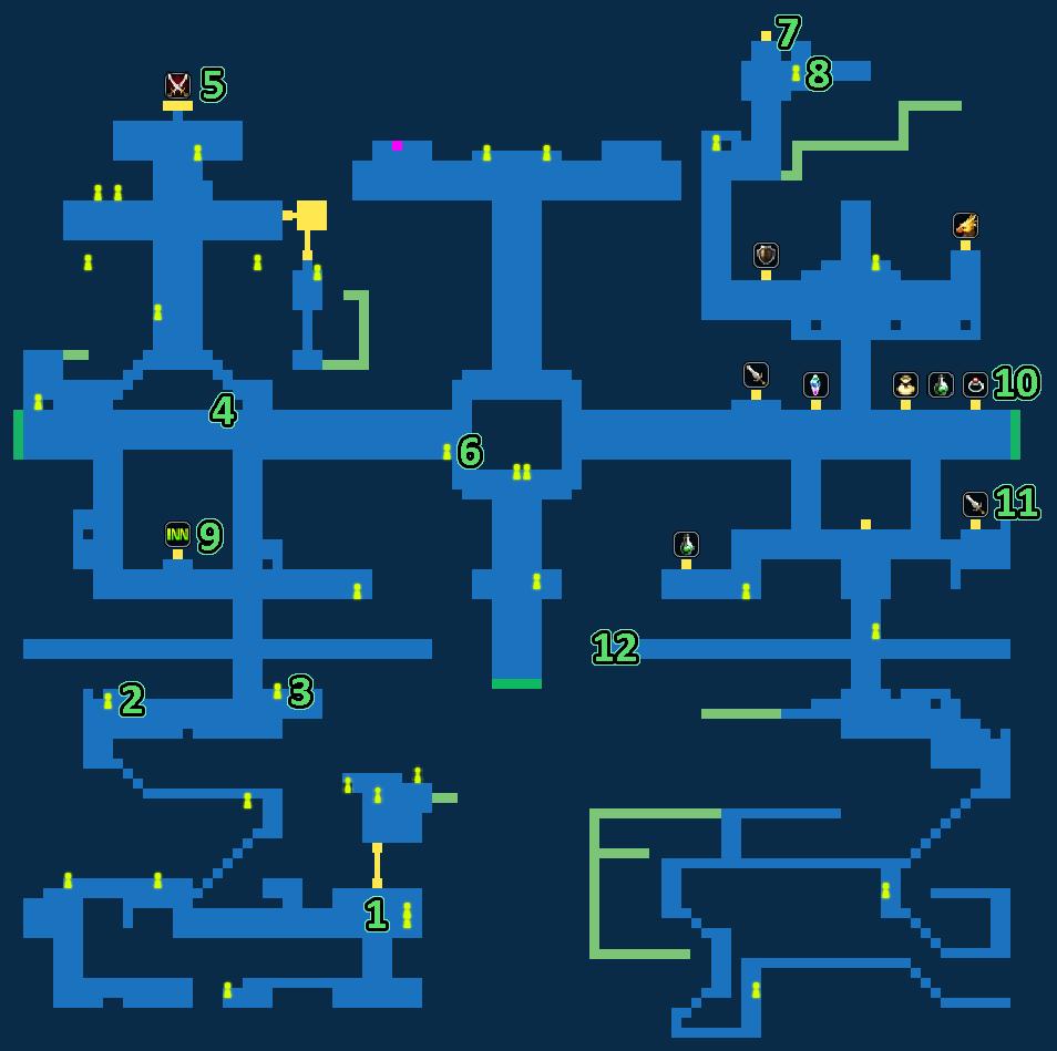 Quest Map of Royal Capital Grandshelt