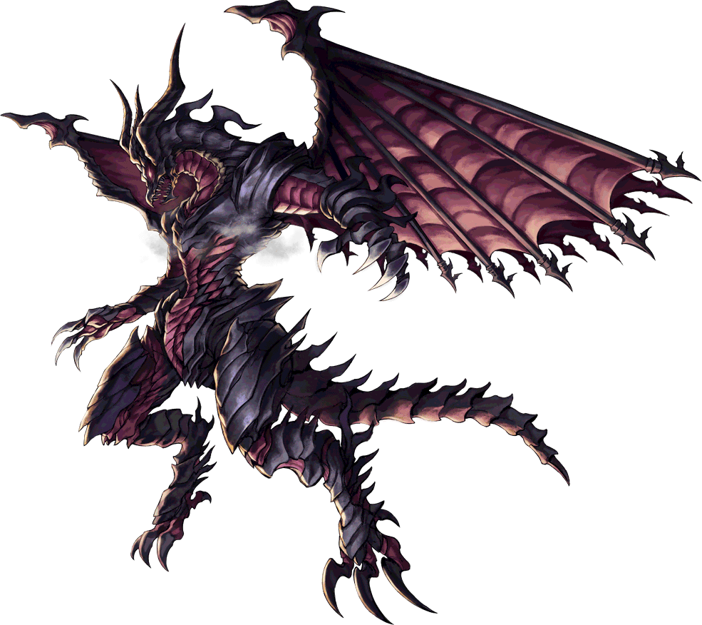Artwork of Bahamut