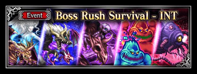Boss Rush Survival - INT