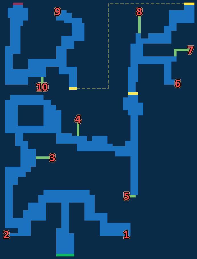 Map for Latius Woods - Past