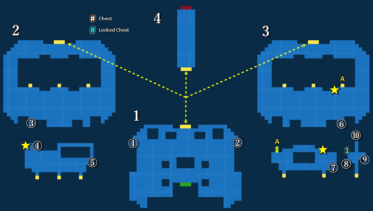 Map of Aldore Tower