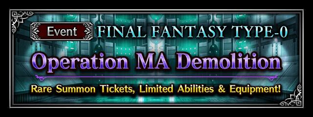 Operation MA Demolition