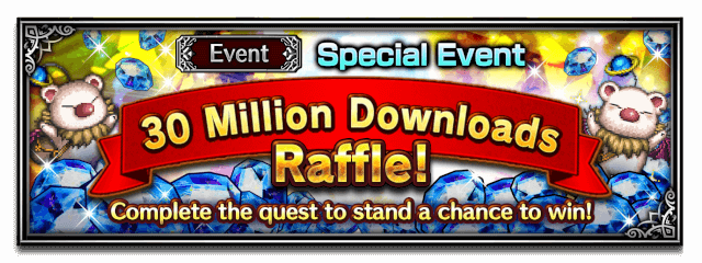 30 Million Downloads Raffle