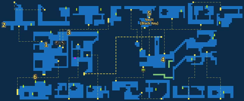 Quest Map of Underworld Gaberada