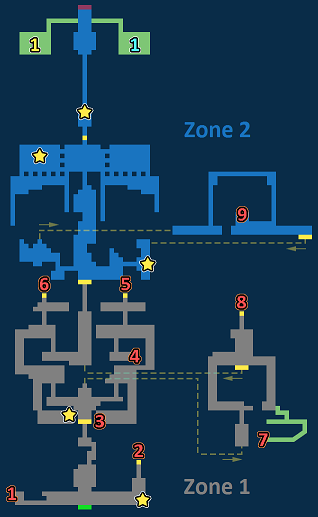 Encounter Map of Wind Shrine Exploration