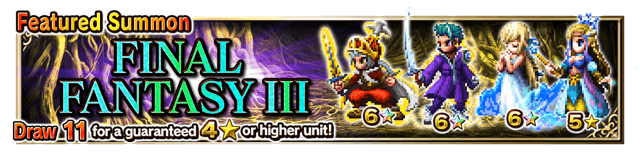 Featured Summon for Final Fantasy III
