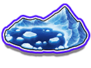 Azure Glacial Lake