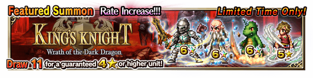 Featured Summon for King's Knight