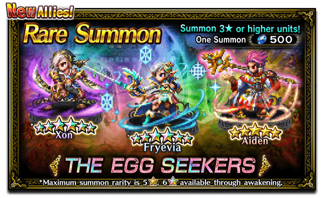 Featured Summon for The Egg Seekers