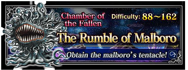The Rumble of Malboro - Final Fantasy Brave Exvius Wiki