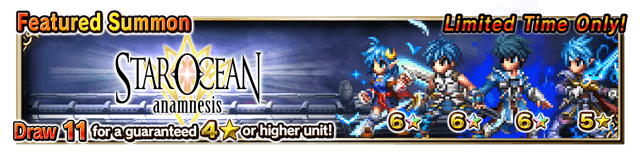 Featured Summon for Star Ocean