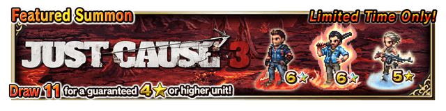 Featured Summon for Just Cause 3