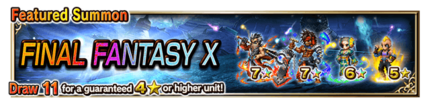Featured Summon for Final Fantasy X