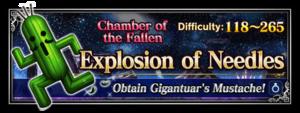 Explosion of Needles