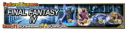 Featured Summon for Final Fantasy IV