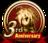 3rd Anniversary Emblem