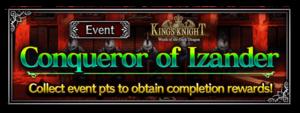 Conqueror of Izander (Rerun)